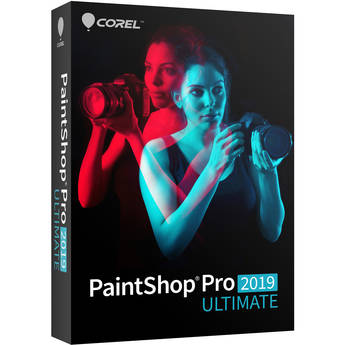 Corel PaintShop Pro 2019 Ultimate (DVD with Download Card)