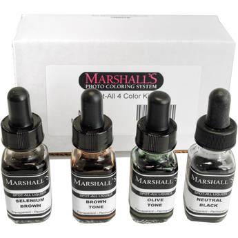 Marshall Retouching Spot-All Kit 4B (4-Color Set)