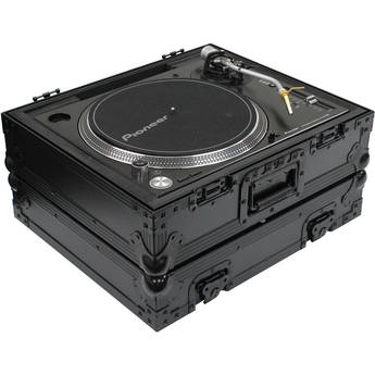 Odyssey Innovative Designs Black Label Universal Case for Technics 1200 Style DJ Turntables