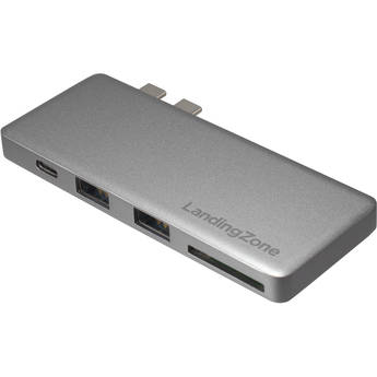 LandingZone USB Type-C Hub for MacBook Pro (Gray)