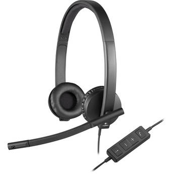 Logitech H570e Wired USB Stereo Headset