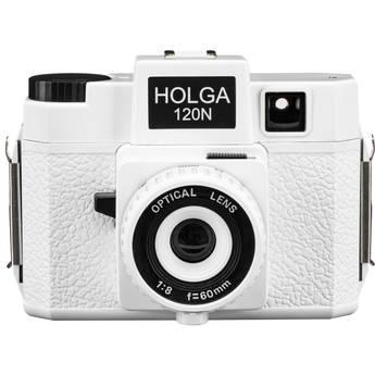 Holga 120N Medium Format Film Camera (White)