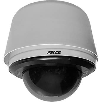 Pelco Spectra Enhanced 1080p Outdoor 30x PTZ Network Smoked Pendant Dome Camera with Heater (Gray)