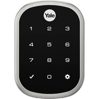 Yale Real Living Assure Lock SL Deadbolt (Satin Nickel) with Connected by August
