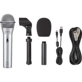 Samson Q2U Recording & Podcasting Pack (Silver)