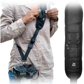 HiiGuy Camera Strap for Canon and Nikon (Black)