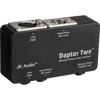 JK Audio Daptor Two Wireless Phone Audio Interface