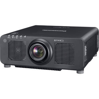Panasonic PT-RZ120BU 12,000-Lumen WUXGA DLP Projector with 1.7 to 2.4:1 Lens(Black)