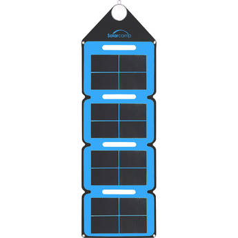 Solar Camp Solympic Hue 7.6W Solar Charger (Blue)