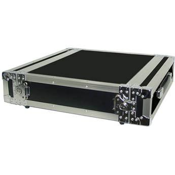 Pro Cases 2U Amp Rack Case (Black)