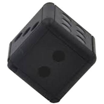 BrickHouse Security Miniature Dice with 1080p Covert Camera (Black)