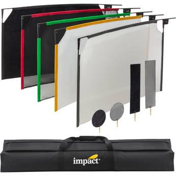 "Impact PortaFrame Scrim Flag Kit (24 x 36"")"