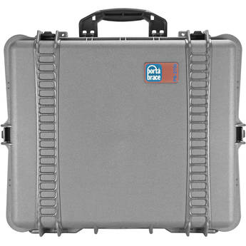 PortaBrace PB-2700 Hard Case with Foam (Silver Platinum)