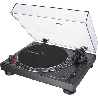 Audio-Technica Consumer AT-LP120XUSB Stereo Turntable with USB (Black)