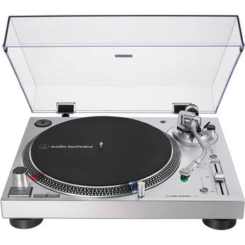 Audio-Technica Consumer AT-LP120XUSB Stereo Turntable with USB (Silver)