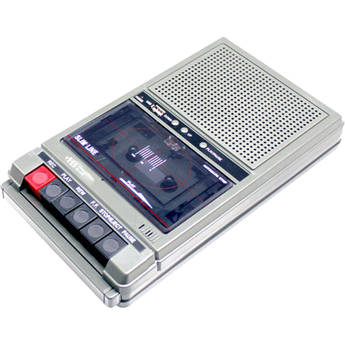 HamiltonBuhl HA-802 1 Watt, 2-Station Cassette Tape Player/Recorder