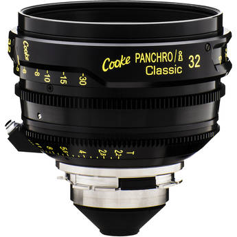 Cooke 32mm T2.2 Panchro/i Classic Prime Lens (PL Mount, Meters)