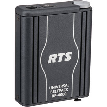 Telex BP4000A4M Single-Channel Portable Beltpack Headset Station (4-Pin XLR, Male)