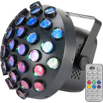 American DJ Startec Contour Mirror Ball Effect with Multicolored Beams (RGB)
