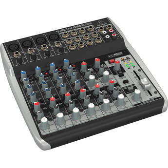 Behringer XENYX Q1202USB 12-Input, 2-Bus Mixer with USB Output