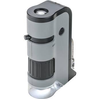 Carson MicroFlip MP-250 100-250x Pocket Microscope
