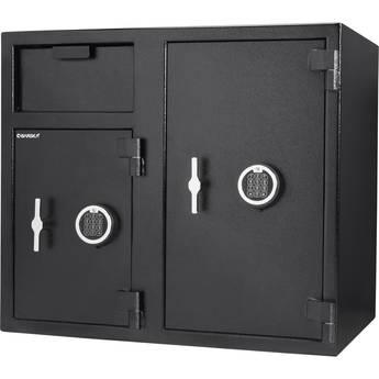 Barska 2.6/4.7 Cubic Foot 2-Lock Depository Safe
