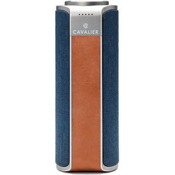 Cavalier Maverick Bluetooth & Wi-Fi Speaker with Amazon Alexa (Blue)