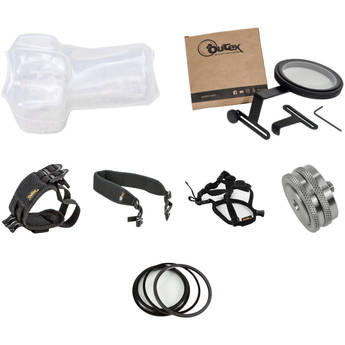 Outex Underwater Camera Cover Kit (Large, 72mm Lens, Tripod Compatible)