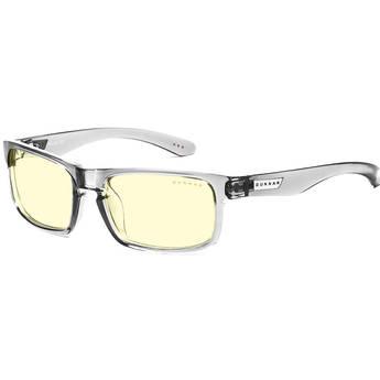 GUNNAR Enigma Gaming Glasses (Smoke Frame, Amber Lens Tint)