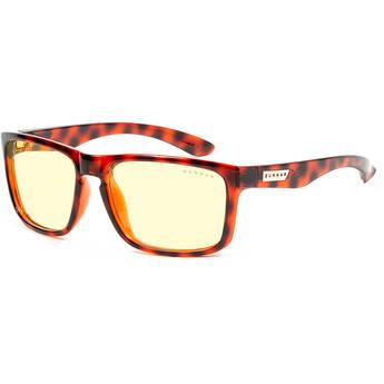 GUNNAR Intercept 24K Gaming Glasses (Tortoise Frame, Amber Lens Tint)