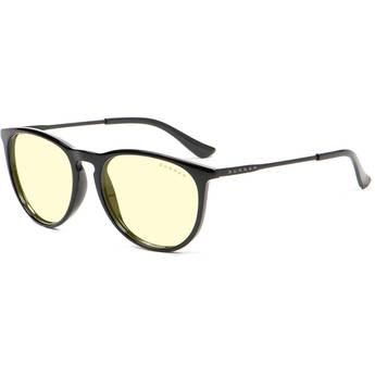 GUNNAR Menlo Computer Glasses (Onyx Frame, Amber Lens Tint)