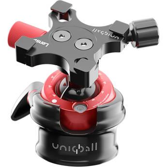 UniqBall UBH 35XC Ball Head with X-Cross Clamp