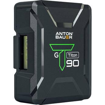 Anton Bauer Titon 90 Gold Mount Lithium-Ion Battery