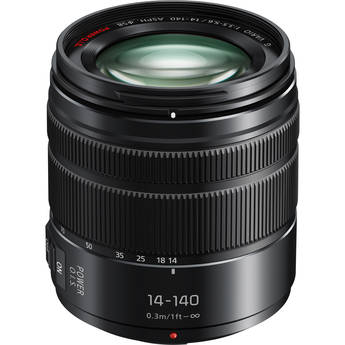 Panasonic Lumix G Vario 14-140mm f/3.5-5.6 II ASPH. POWER O.I.S. Lens