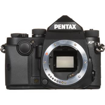 Pentax KP DSLR Camera (Body Only, Black)