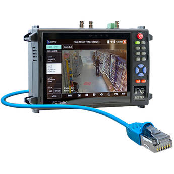 """ViewZ 7"""" Touch Screen/WiFi IP LED Test Monitor"""