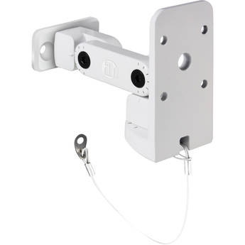 LD Systems Multi-Angle Wall Mount Bracket for CURV 500 Satellites (White)