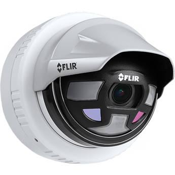 FLIR Saros DH-390 Outdoor Thermal & 1080p Optical Network Dome Camera