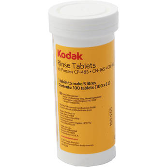 Kodak EKTACOLOR PC III Rinse Tablets (100-Pack)