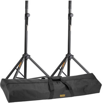 Auray PA Lightweight Aluminum Speaker Stands and Bag Kit (Pair)