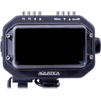"Aquatica 5HD Underwater Monitor (1/2"" Bulkhead, HDMI Type D, Black)"