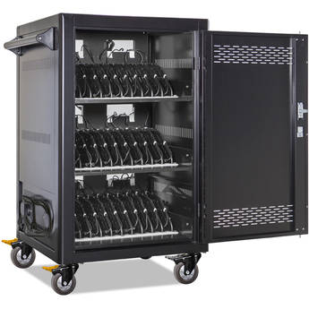 """Anywhere Cart AC-LITE-PW45 30-Bay Pre-Wired USB Type-C Charging Cart (Devices up to 15.6"""")"""