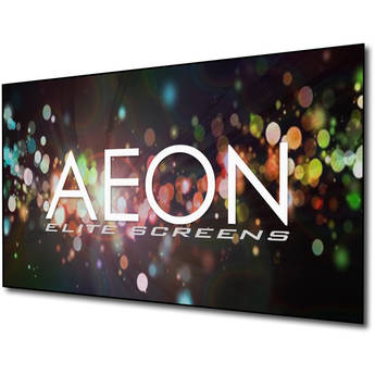 """Elite Screens AR120DHD3 Aeon 58.3 x 104.1"""" Fixed Frame Projection Screen"""