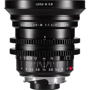 Leitz Cine 21mm M 0.8 f/1.4 Full Frame M-Mount Lens (Feet)