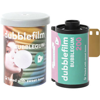 dubble film Bubblegum 200 Color Negative Film (35mm Roll Film, 36 Exposures)