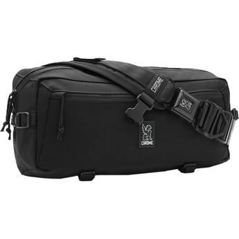 Chrome Industries Kadet Nylon Messenger Bag (Black/Aluminum)