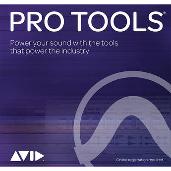 Avid Pro Tools Perpetual License - Audio and Music Creation Software (Download)