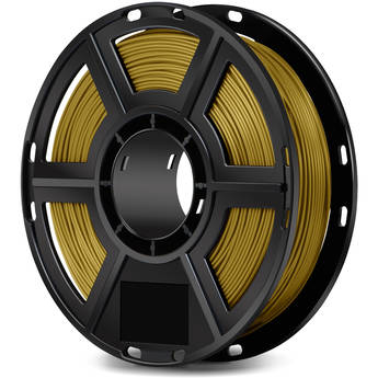 FlashForge 1.75mm PLA Filament for the Finder, Dreamer, Inventor Series, and Adventurer 3 (0.5kg, Gold)