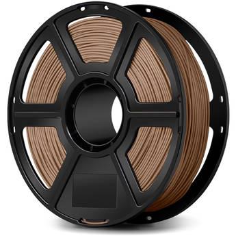 FlashForge 1.75mm Wood Filled Filament for the Creator & Guider II Series (1kg, Light Wood)