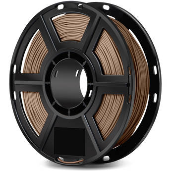 FlashForge 1.75mm Wood-Filled Filament for the Dreamer, Inventor Series, and Adventurer 3 (0.5kg, Light Wood)